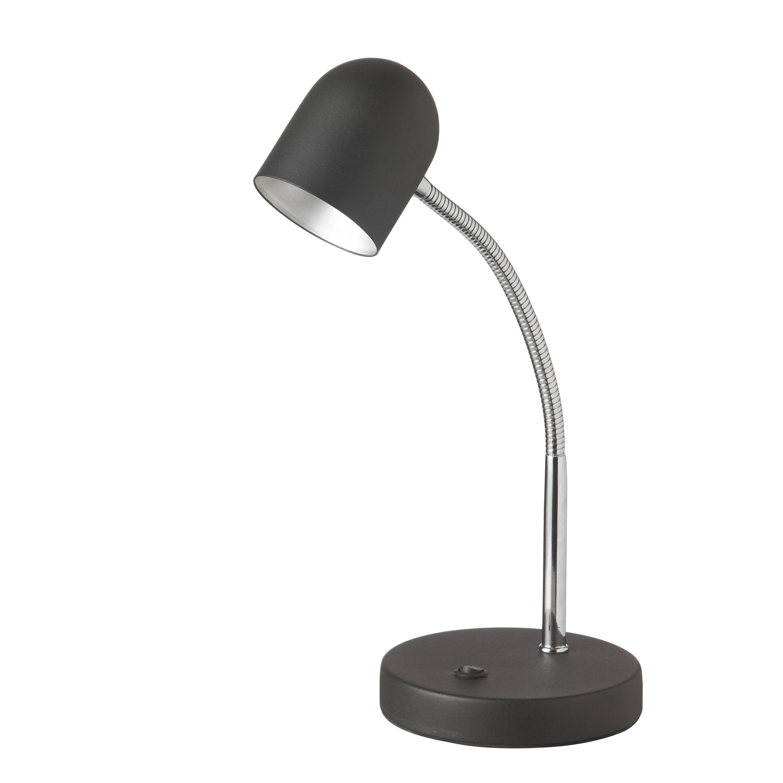 5 Watt LED Table Lamp, Satin Black Finish