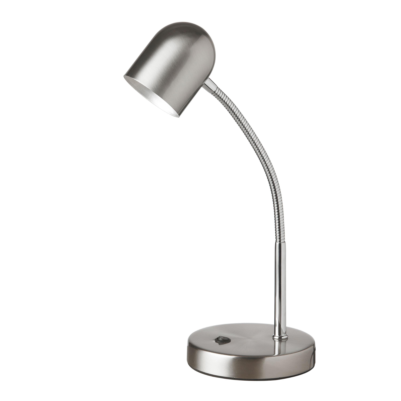 5 Watt LED Table Lamp, Satin Chrome Finish