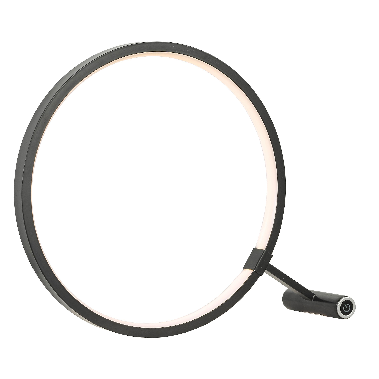 15W LED Table Lamp, Black Finish