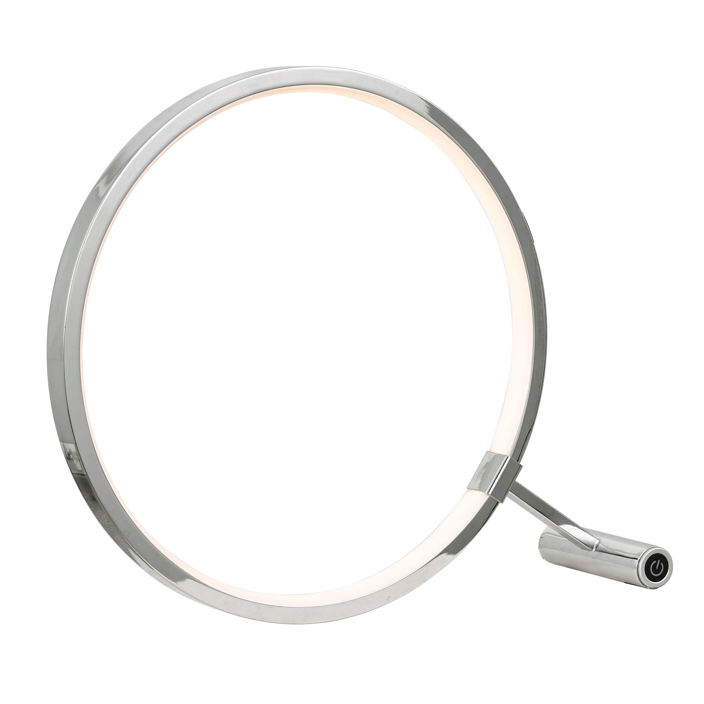 15W LED Table Lamp, Polished Chrome Finish