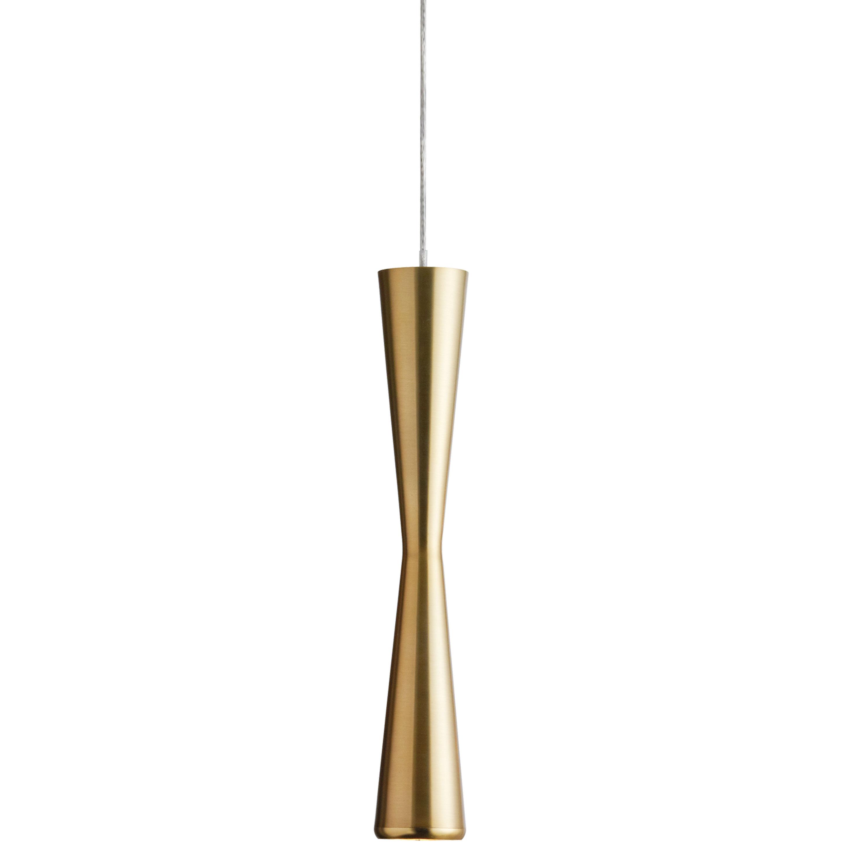 5 Watt LED Pendant, Vintage Bronze Finish