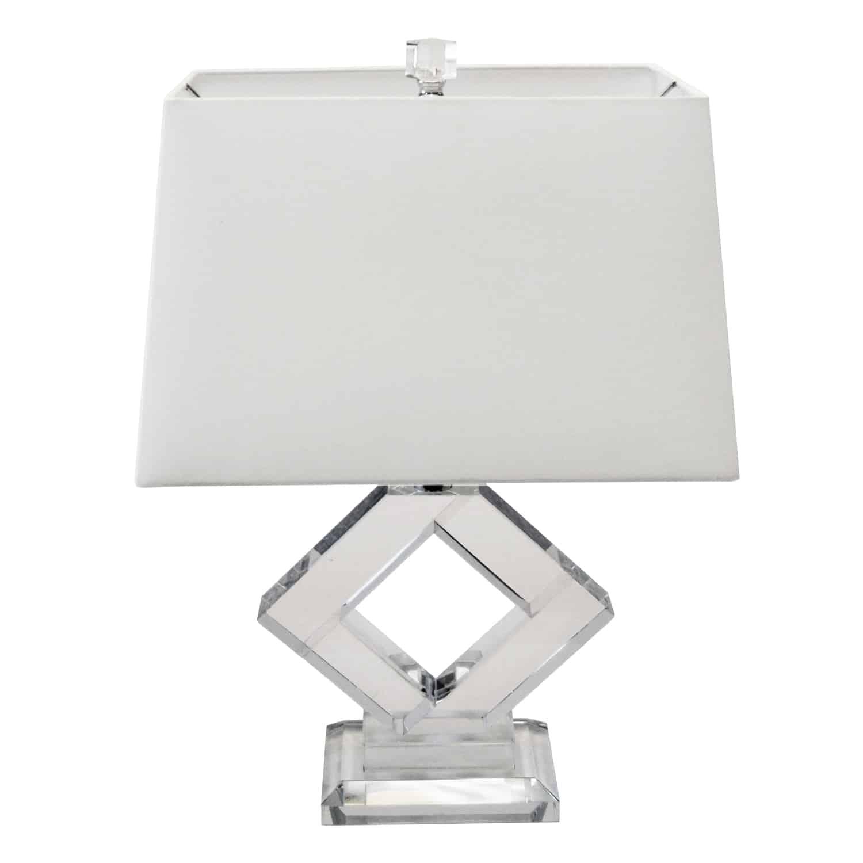 1 Light Table Lamp, Polished Chrome Finish