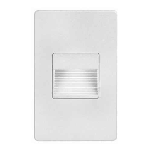 120VAC input, L125mmxW78mmxH37mm, 2700K, 3.3W IP65, White Wall LED Light