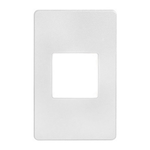 120VAC input, L125mmxW78mmxH37mm, 2700K,3.3W IP65, White Wall LED Light with White Lens