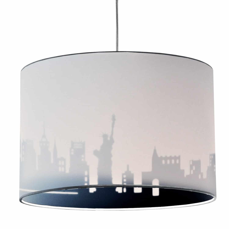 1 Light Incandescent Felicity Pendant Jewel Tone White/Black, Polished Chrome