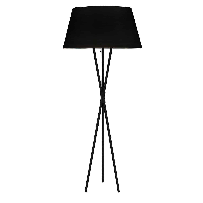 1LT Gabriela Floor lamp, JTone BLK/SLV, MB