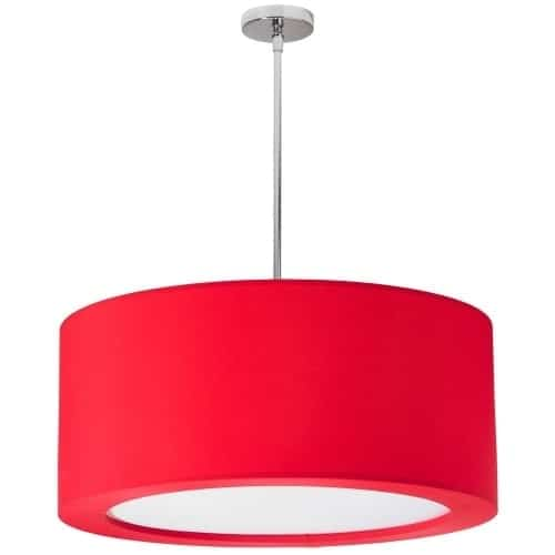 The ultra-chic Jasmine family of pendant lighting gives you a sleek design element in a range of striking color choices.  Jasmine is urban and modernistic while making a classic statement in style. Lycra adds a sleek element to the rounded chrome design set with a graduated drop of squared crystals. It becomes an instant focal point in a neutral décor scheme. This is a look sure to make a noticeable contribution to the ambiance of any room.