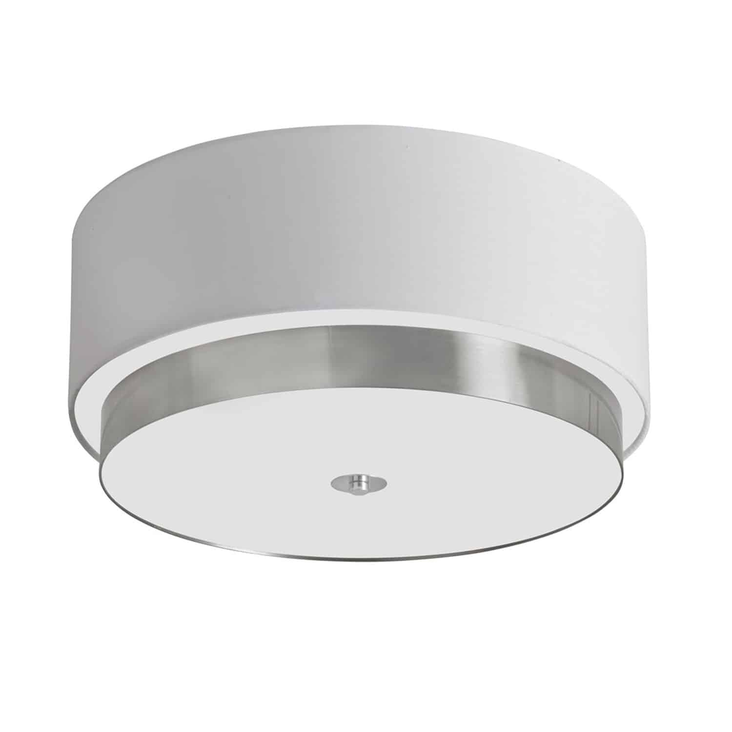 With its curved lines and modernistic feel, the Larkin line of lighting is reminiscent of one of the first buildings designed by Frank Lloyd Wright. Like the work of the famous architect, the Larkin line of lighting features an elegant sense of balance, featuring white frosted glass or drum shades contrasted with dark or metallic frames and the curved lines of the shades with the straight geometry of the frames.  Larkin lighting comes in a full range of configurations suitable for any room in the house and blends easily with contemporary or mid-century design schemes.
