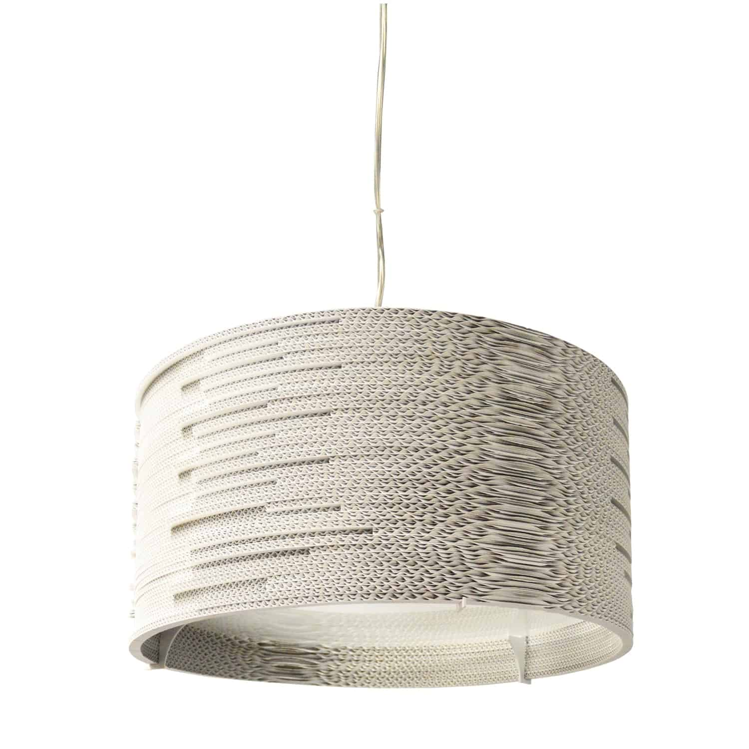 3 Light Incandescent Pendant Matte White Finish with frosted Diffuser