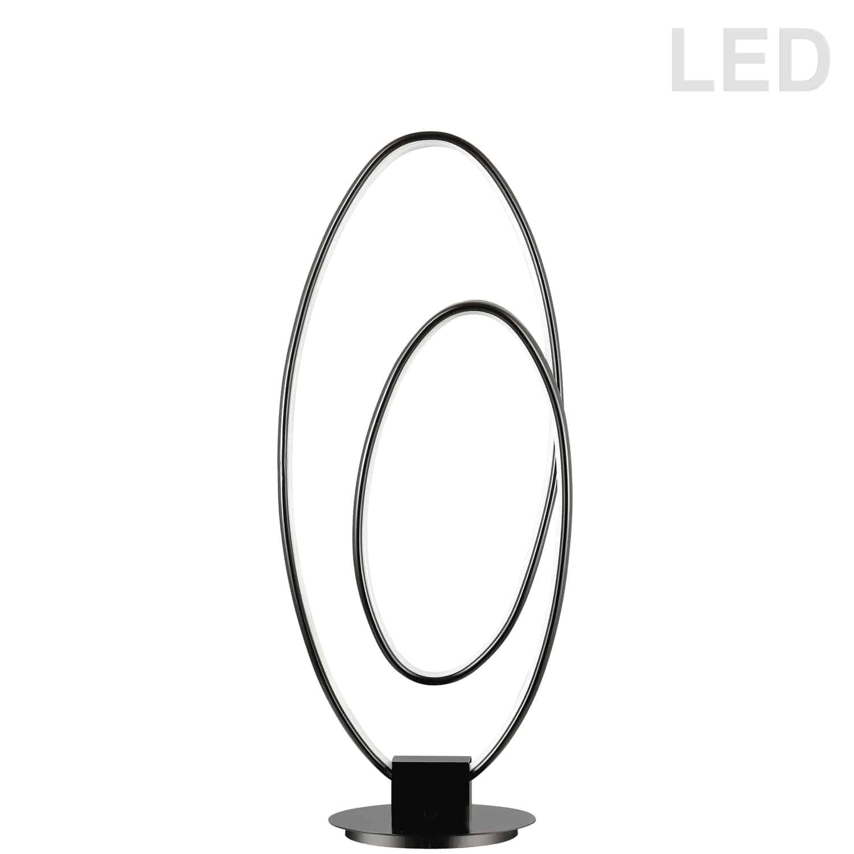 30W LED Table Lamp, Matte Black