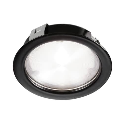 Cree 4W 24VDC input 3000K, CRI80+, 40° beam Puck Light, Black