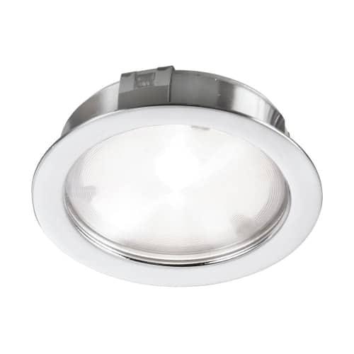 24v dc4w pc led cob puck light dainolite 24v dc4w white led cob puck light aloadofball Image collections