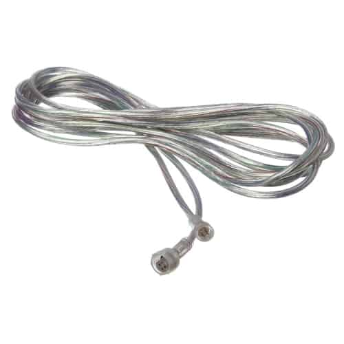 20AWG 15FT Extension Cable with male and female 4C waterproof connectors at both end