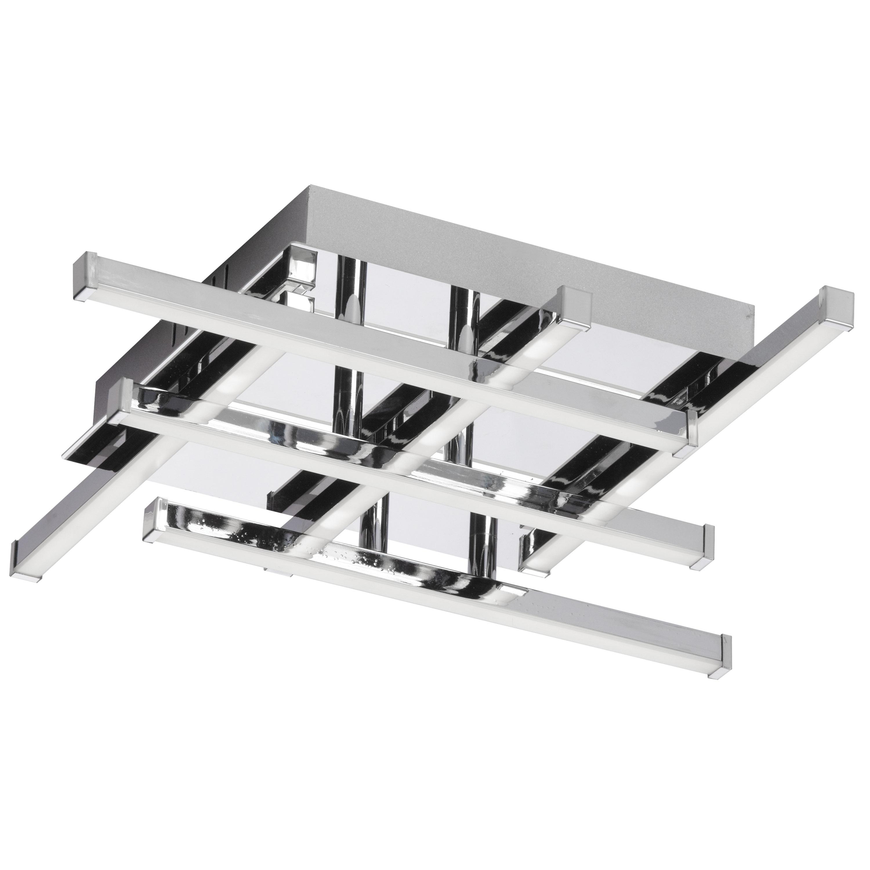 18W LED Flushmount PC w/ WH Acrylic Diffuser