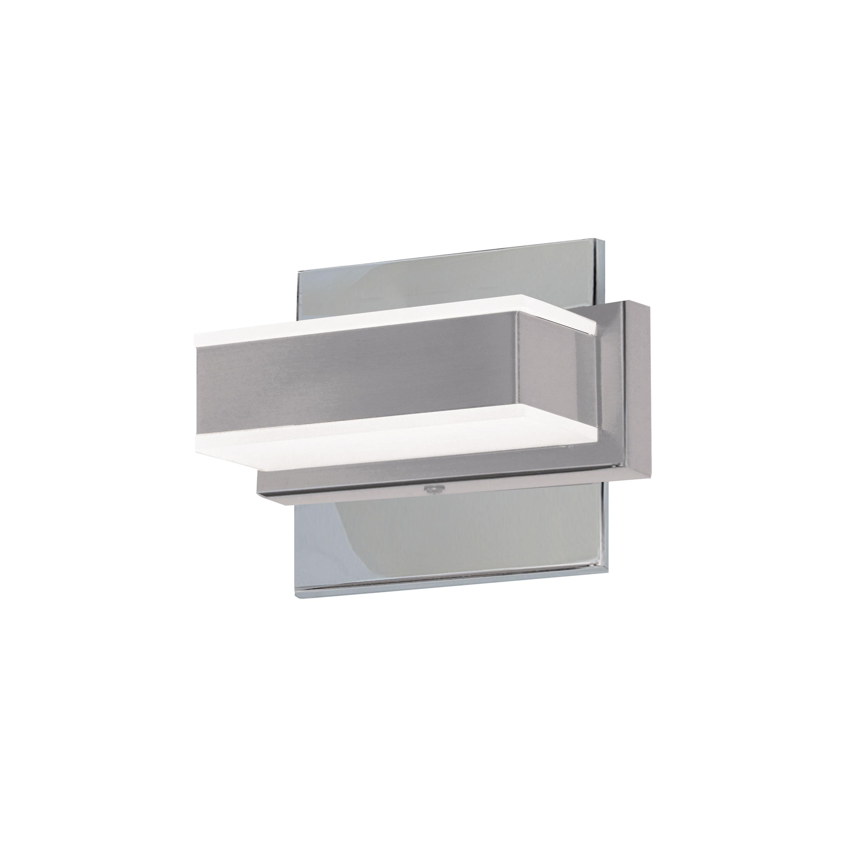 1 Light LED Wall Vanity, Polished Chrome Finish